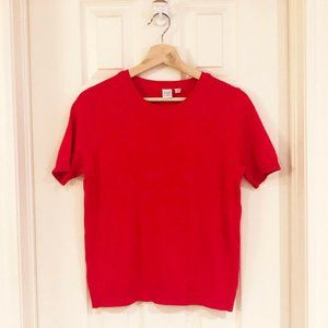 Twik NWOT Red Sweater - Shirt Sleeve